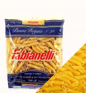Паста Пенне Ригате  из твердых сортов пшеницы 100% итальянское зерно 500гр Fabianelli