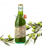 """Оливковое масло Cartolina postale экстра верджин """"Сырое"""" 0,5 литра Флоренция"""