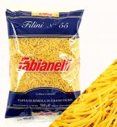 Паста Филини из твердых сортов пшеницы 500гр Fabianelli ( для супов)