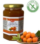 Джем из абрикосов, 60% фруктов FACCI 350гр, БЕЗ ГЛЮТЕНА
