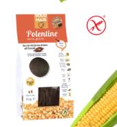 Печенье шоколадно-сливочное кукурузное Полентини с какао БИО, без глютена. 180 гр Solomais