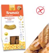 Печенье сливочное кукурузное Крумаис с какао, БИО, без глютена. 180 гр Solomais