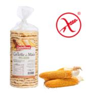 Хлебцы  галеты Castelfood, 130 гр , БЕЗ ГЛЮТЕНА Кукурузные (замена хлеба на каждый день)