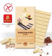 Белый шоколад LINEA C, 100гр, БЕЗ ГЛЮТЕНА. БЕЗ  ПАЛЬМОВОГО МАСЛА