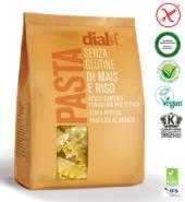 Паста Реджинетте королевские из кукурузы и риса Dialsi 250гр. Без глютена